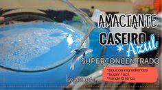 AMACIANTE CASEIRO AZUL / #SUPERCONCENTRADO