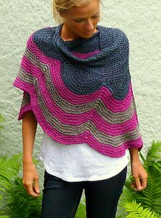 Betsey Shawl By Amy Miller - Purchased Knitted Pattern - (ravelry)