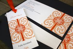 Cultural Custom Wedding Invitation