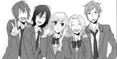 Horimiya Manga Reviews | Anime-Planet