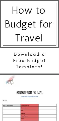 Steps To Amazing Travel On A College Budget  Budgeting College