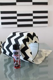 DIY How To Cover A Lampshade