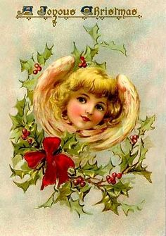 Old Christmas Post Cards —  (562x800)