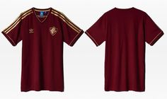 Camisa retrô grená do Fluminense 2015 Adidas Originals