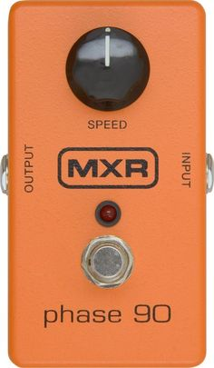 MXR M-101 Phase 90 Pedal: I've always wanted one of these. They weren't available for a while at the time I had money for one, so I bought a Boss phase pedal instead, but only the MXR gets those Van Halen tones (from what I know at least, aside from modeling).
