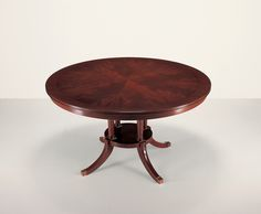 25005 // Decca // Traditional Collection // Traditional Hand Carved Round Dining Table