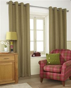 Buy Harrison Green Eyelet Curtains from the Next UK online shop Next Uk, Uk Online, Room Ideas, Living Room, Bedroom, Shop, Stuff To Buy, Home Decor