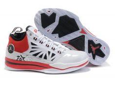 2f5ade6d44c1ed Air Jordan CP3 Mens basketball shoe - White Red Black Nike High Heels