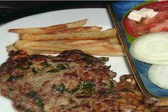 Make and share this Lamb Patties Greek Style recipe from Genius Kitchen. Lamb Recipes, Greek Recipes, Meat Recipes, Cooking Recipes, Top Recipes, Lamb Patties, Lamb Burgers, Lamb Dishes, Ground Lamb