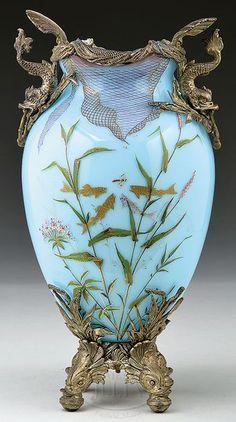 Moser Vase art nouveau