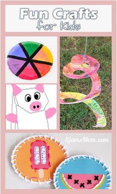 fun craft for kids #LearnActivities