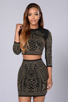 Own The Night Top - Black