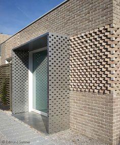 Home - Foster Lomas Brick Cladding, Brick Facade, Facade House, Brick Design, Facade Design, Exterior Design, Brick Architecture, Architecture Details, System Architecture