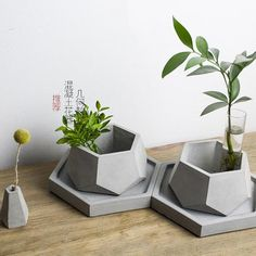 Cheap decor mold, Buy Quality silicone mold directly from China clay mold Suppliers: plant pot silicone molds plant pots decorative molds silicone concrete molds DIY clay molds Concrete Planter Molds, Cement Planters, Wall Planters, Concrete Crafts, Concrete Projects, Diy Projects List, Project List, Diy Molding, Home Crafts