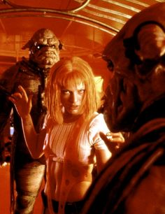 """""""Everything you create, you use to destroy."""" """"Yeah, we call it human nature."""" The Fifth Element (1997)"""