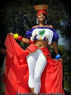 Beautiful Haitian outfit