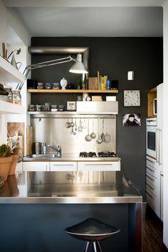 A cozinha dos meus sonhos! <3  Linda, linda