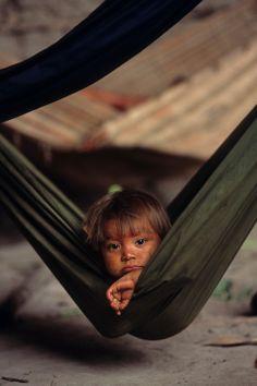 Yanomami child