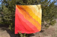 Andrew's quilt front April 2011 by Sewfrench, via Flickr