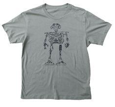 Retro Robot Military - XL