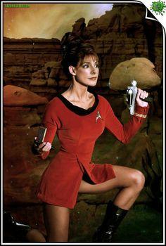 Deanna Troi - Marina Sirtis by gazomg on deviantART