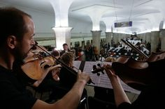 Day of Slavic Language and Culture - Music in Moscow Subway