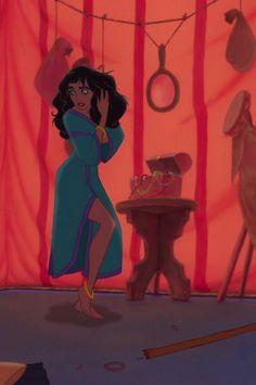 Esmeralda- definitely the fittest Disney girl Disney Pixar, Arte Disney, Disney Films, Disney And Dreamworks, Disney Magic, Disney Art, Disney Characters, Esmeralda Disney, Princesa Disney