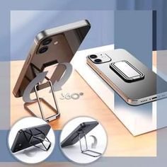 New Adjustable Folding Stand is Capable of 360 Degree Rotation and 180 Degree Flip, Provide A Wider Range of Viewing Angles than Other Holders. Cool Gadgets To Buy, Gadgets And Gizmos, Tech Gadgets, Cell Phone Hacks, New Technology Gadgets, Cool Iphone Cases, Cool Inventions, Cool Tech, Home Hacks