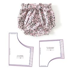 Best 12 Baby Toddler Bloomers pattern, High Waisted Bloomer PDF, Bloomers pattern, Baby shorts pattern, Diap – Page 835628905843787136 – SkillOfKing. Baby Bloomers Pattern, Baby Dress Patterns, Baby Clothes Patterns, Sewing Patterns For Kids, Clothing Patterns, Sewing Ideas, Baby Sewing Tutorials, Baby Dress Tutorials, Baby Pants Pattern