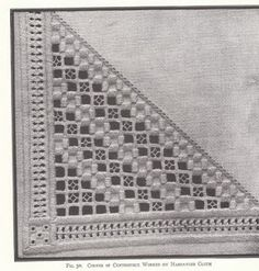 Hardanger Could maybe do on a napkin or a hankie?