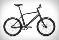 BICICLETA URBANA PEQUENA - THINBIKE BLACK  Hoje decidimos apresentar novamente (já contou com a versão branca) uma das nossas bicicletas favoritas, a ThinBike desenvolvido pela Schindelhauer. Veja mais detalhes no nosso site.