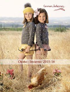 Catálogo comercial de moda infantil Carmen Taberner