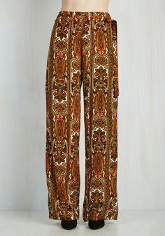 Somethin' to Groove Pants From The Plus Size Fashion Community At www.VintageAndCurvy.com