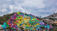 Massive Collection of Street Art Murals Cover Over 200 Homes in Mexico