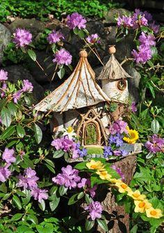 Faerie house #fairy #faries