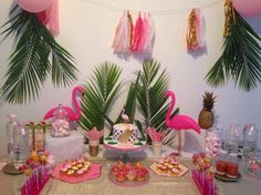 Festa tropical fácil de fazer Easy DIY tropical party