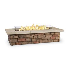 Real Flame Sedona 66  Rectangle LP Fire Table
