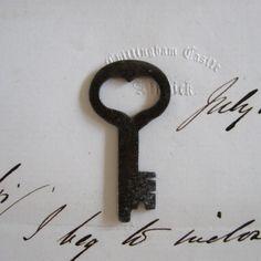 old heart key