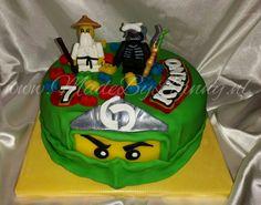 LEGO NINJAGO taart! www.MadeByLianny.nl