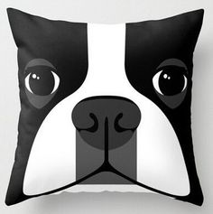 Why These Boston Terrier Pillow Cases? 1. Boston Terriers are said to be one of the rare dog breeds that has no body odor, but they also fart a lot. This pillow will NEVER fart. 2. They have a big att