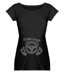 Maternity Spangle Bling Baby Racer Top by DaddyRabbitGraphics, $23.99
