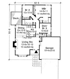 Plan No.296017 House Plans by WestHomePlanners.com