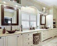 Bath by K & K Custom Cabinets LLC http://www.houzz.com/photos/5469950/Dream-Bath-transitional-bathroom-charleston  Absolutely love this bathroom.