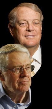 Koch Brothers Exposed: these two vile, reactionary, fascist cretins are probably the most evil bastards in the U.S. today.