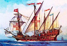Portuguese Caravel - Caravel redonda