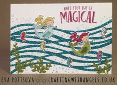 Crafting With Angels: Magical Mermaids - Occasions 2018 Stamp 'N Hop
