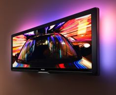 Philips 21:9 widescreen. no more black bars on your cinemascpe experience. with an extra ambilight on its back