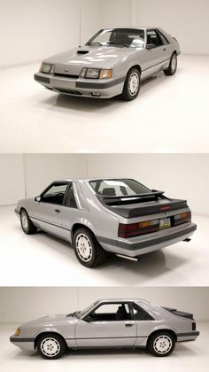 1986 Ford Mustang SVO [15,196 Orig Miles/1 Owner] Mustang Svo, Ford Mustang, Fuel Saver, Turbo Car, Collector Cars For Sale, Manual Transmission, Ford Mustangs