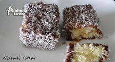 Hindistan Cevizli Lokum Kek Tarifi nasıl yapılır? Hindistan Cevizli Lokum Kek Tarifi'nin malzemeleri, resimli anlatımı ve yapılışı için tıklayın. Yazar: Gizemli Tatlar