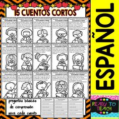 912 best todo sobre mi images on pinterest coloring book coloring easy reading for reading comprehension in spanish all about me todo sobre mi fandeluxe Image collections